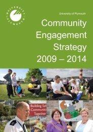 Community Engagement Strategy.pdf - Plymouth University