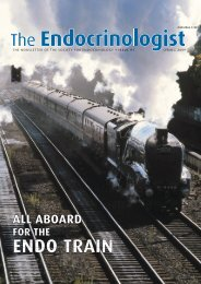 The Endocrinologist   Issue 91 - Society for Endocrinology