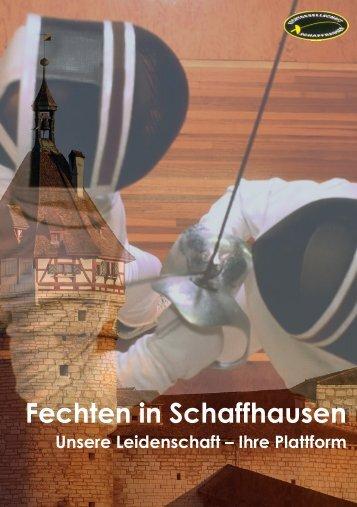 Flyer Sponsoring PDF Download - Fechtgesellschaft Schaffhausen