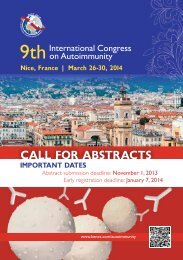 CALL FOR ABSTRACTS - Kenes Group
