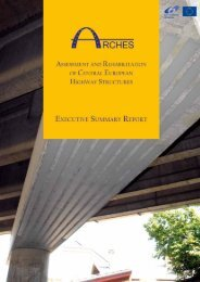 EU FP6-ARCHES Final Report lowres.pdf - Structural Maintenance ...