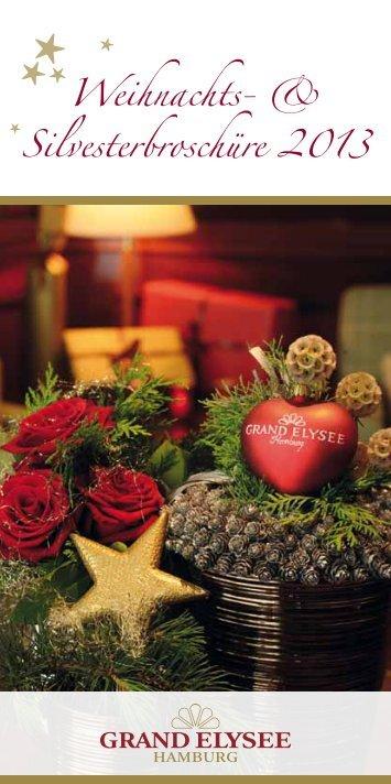 Weihnachts- & Silvesterbroschüre 2013 - Grand Elysee