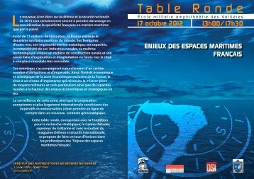 Table Ronde - IHEDN