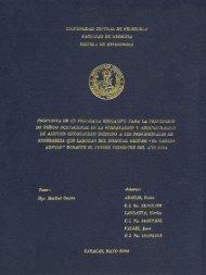Page 1 Page 2 UNIVERSIDAD CENTRAL DE VENEZUELA ...