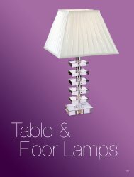 Table & Floor Lamps - Firstlight products