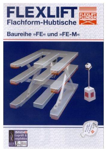 FE-Prospekt Deutsch.PDF - SHB Seil- und Hebetechnik Berlin GmbH