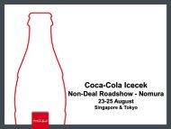 2010 - Coca Cola İçecek