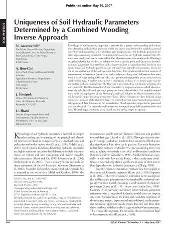 Full Text (PDF) - Soil Science Society of America