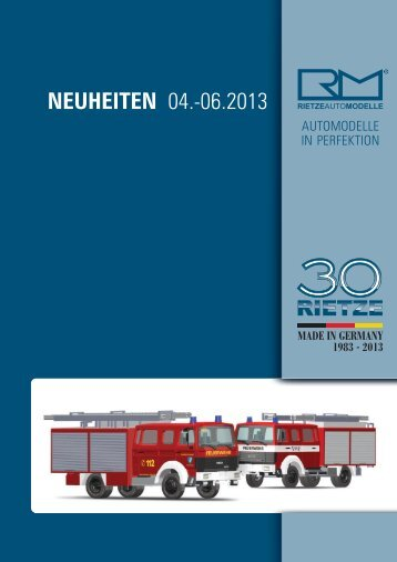 Rietze Neuheiten 2013 - JR Line