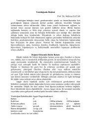 Yenidoğanin Bakimi Prof. Dr. Mehmet SATAR Yenidoğan bebeğin temel ...