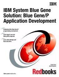 IBM Blue Gene/P Application Development