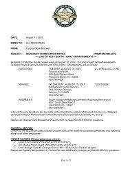 Sheriff Promotes 81 BSO Veterans - Broward Sheriff's Office