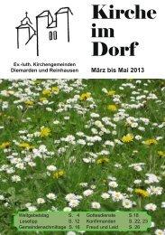 Download - Kirche im Dorf für Diemarden und Reinhausen