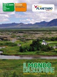 itinerari e soggiorni di gruppo - estate 2012 - Planetario Viaggi