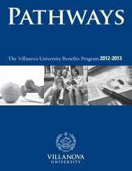 Pathways 2012-2013 - Villanova University