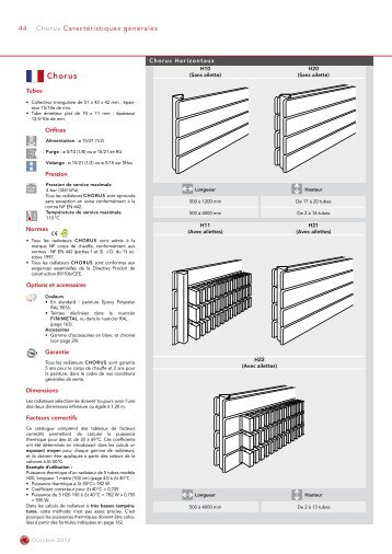 CHORUS horizontal - Finimetal