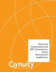 Hormonal Contraception and HIV Transmission: Links? Mechanisms ...