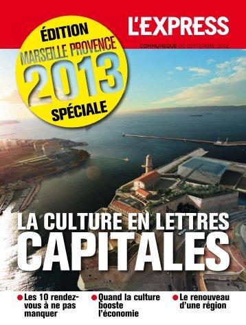 Edition PACA Marseille Provence 2013 - Partenaire.fr