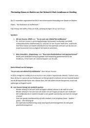 Themadag Gewas en Bodem van het Netwerk Vitale ... - NMV