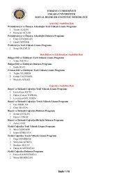 Kesin Kayıt Hakkı Kazananların Listesi-1 - Sosyal Bilimler Enstitüsü