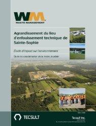 Rapport Rivière Jourdain Mars 2008 (pdf) - Sainte-Sophie - Waste ...