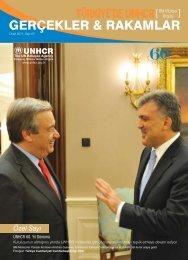 Türkiye'de UNHCR 'Gerçekler & Rakamlar'