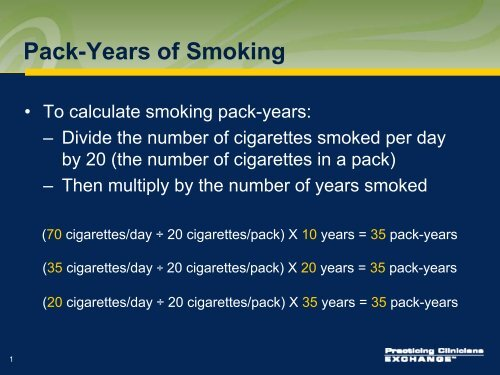 How to calculate cigarette packs per year where can i buy vuse e cigarettes