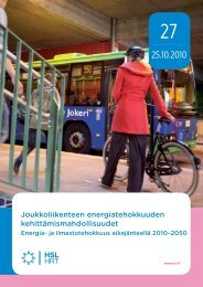 Joukkoliikenteen energiatehokkuuden ... - HSL
