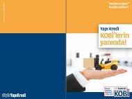 KOBİ'lere hibe ve destek programları - Yapı Kredi