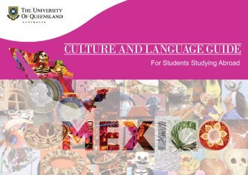 Cultural and Language Guide to Mexico - University of Queensland