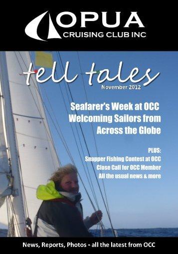 Tell Tales November 2012 - Opua Cruising Club