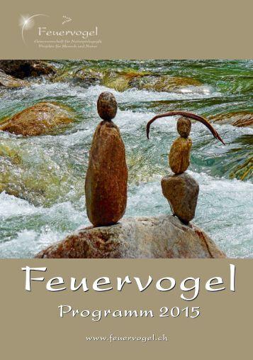 Feuervogel Genossenschaft  - Neues Kurs Programm 2015 - Naturpädagogik