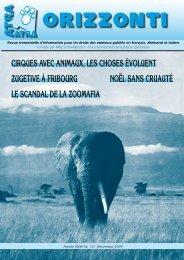 cirques avec animaux, les choses évoluent Zugetive à ... - ATRA