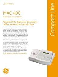 MAC 400 brochure spanish - MTB Distribuciones