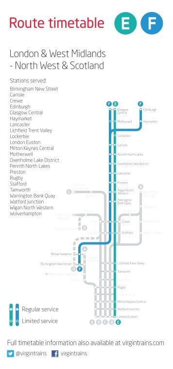 Birmingham - The North West & Scotland - Virgin Trains
