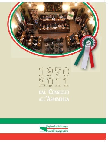 27. [pdf] dal consiglio all'assemblea - Assemblea Legislativa