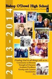 Bell Schedule - Bishop O'Dowd High School
