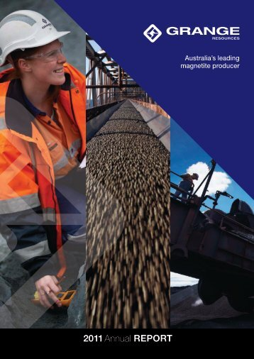 2011 Annual Report (3 April 2012) - Grange Resources