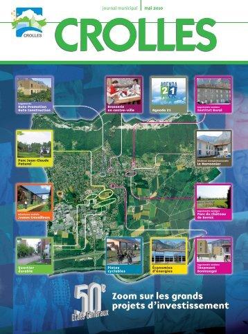 Zoom sur les grands projets d'investissement - ville de Crolles