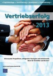 Vertriebserfolg 2013 - WMD Brokerchannel