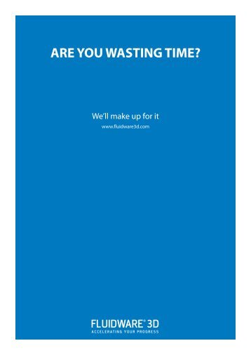 ARE YOU WASTING TIME?
