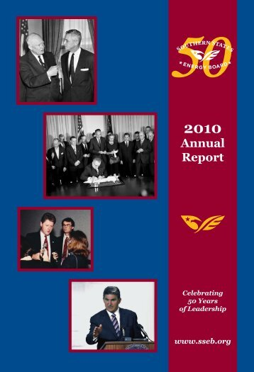 2010 Annual Report - Southern States Energy Board