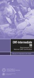EMT-Intermediate/99 - National Registry of Emergency Medical ...