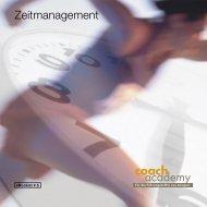 Zeitmanagement coach academy