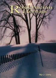 Rosicrucian Heritage Magazine - 2004-09 - AMORC