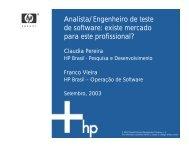 Analista/Engenheiro de teste de software: existe mercado ... - GSE