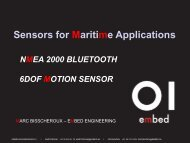 Sensors for Maritime Applications - Hardware Conference
