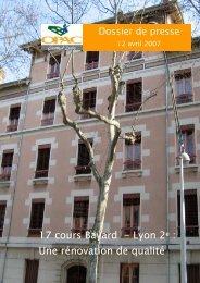 17 cours Bayard - Lyon 2e - Grand Lyon Habitat