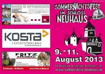August 2013 - Marktgemeinde St.Martin