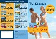 TUI Specials